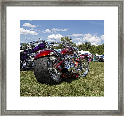 Big Dog Mastiff Framed Print by Peter Chilelli