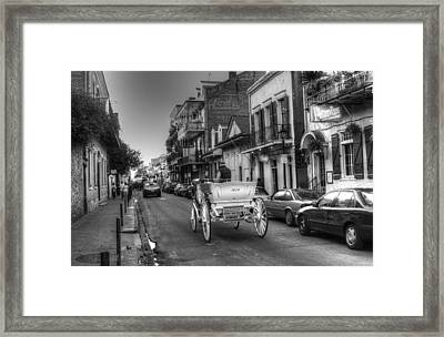 Big Easy Carriage Ride Framed Print