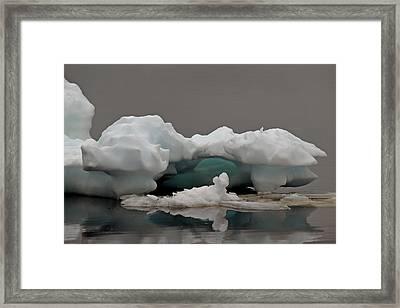 Big Ice Little Ice Framed Print by Stan Wojtaszek