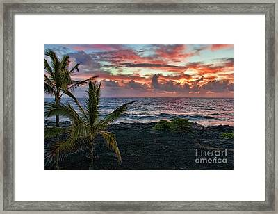 Big Island Sunrise Framed Print