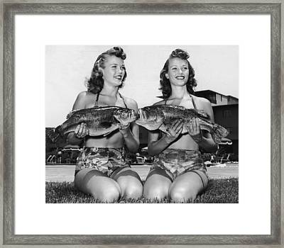 Big Mouth Billy Bass Framed Print by Archive Photos