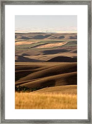 Big Muddy Valley Of Saskatchewan Framed Print
