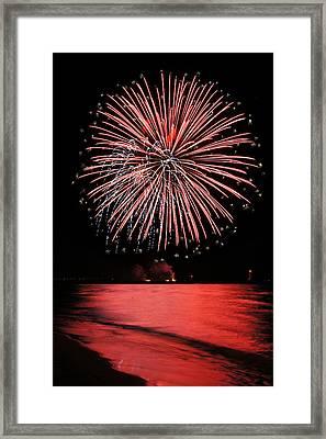 Big Red Framed Print by Bill Pevlor