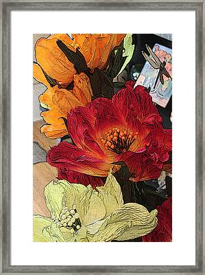 Big Red Framed Print by Bob Whitt