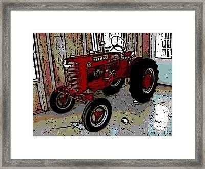 Big Red Framed Print by George Pedro