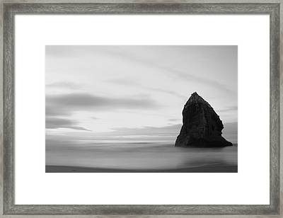 Big Rock Framed Print by Arixxx