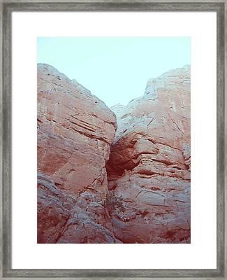 Big Rocks Framed Print by Naxart Studio
