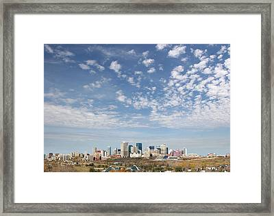 Big Sky Yeg Framed Print