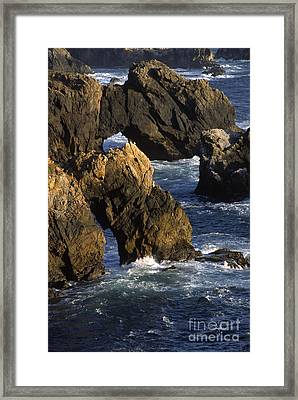 Big-sur-1b-2 Framed Print