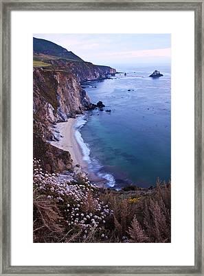 Big Sur Coastline Framed Print