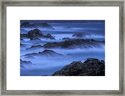 Framed Print featuring the photograph Big Sur Mist by William Lee