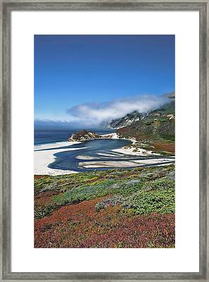 Framed Print featuring the photograph Big Sur by Renee Hardison