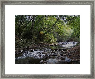 Big Sur River Framed Print