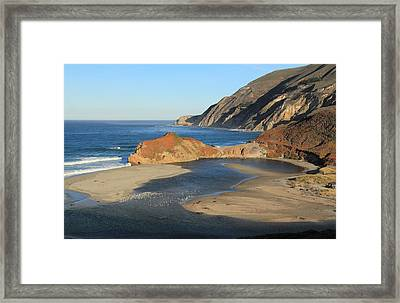 Framed Print featuring the photograph Big Sur by Scott Rackers