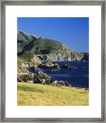Big-sur-t1-3 Framed Print