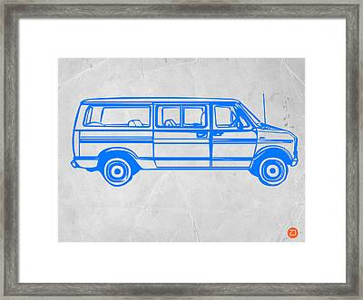 Big Van Framed Print by Naxart Studio