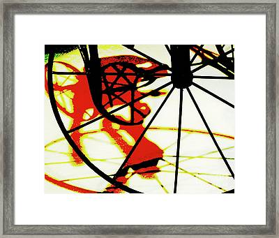Framed Print featuring the photograph Big Wheel by Newel Hunter
