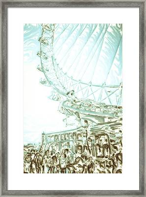 Big Wheel Framed Print by Tom Gowanlock