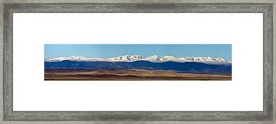 Bighorn Mountains Framed Print by Twenty Two North Photography