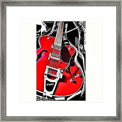 Bigsby Guitar Framed Print