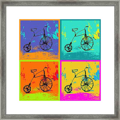 Bike 1b Framed Print by Mauro Celotti