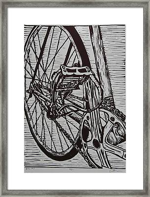 Bike 3 Framed Print by William Cauthern
