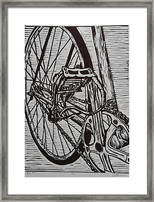 Bike 3 Framed Print