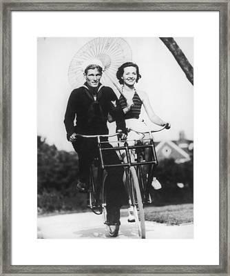 Bike Buddies Framed Print by Fpg