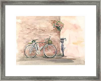 Bike Date Framed Print