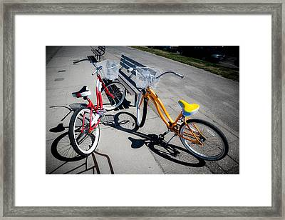 Bike Ride Framed Print