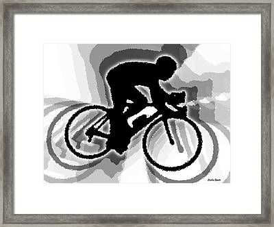 Bike Framed Print by Stephen Younts
