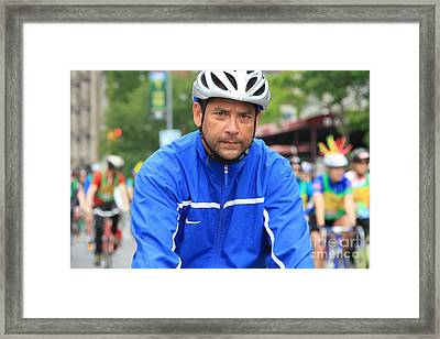 Bike Tour1 Framed Print by Terry Wallace