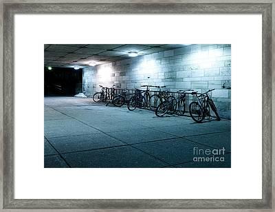 Bikes Framed Print by Igor Kislev
