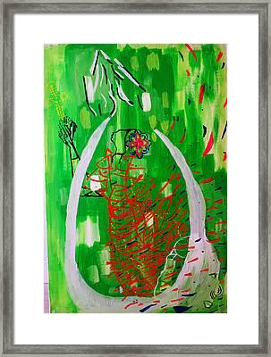 Bikira Maria - Rosa Mystica Framed Print by Gloria Ssali