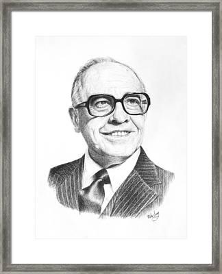 Bill Harvey Framed Print