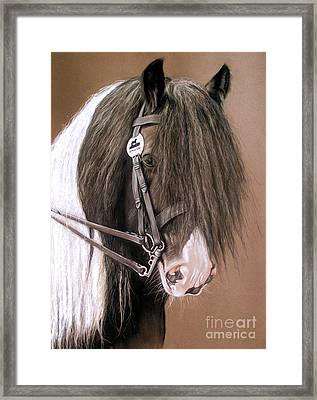 Billy The Kid Framed Print by Caroline Collinson