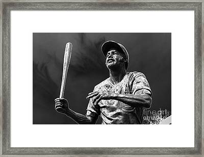 Billy Williams - H O F Framed Print by David Bearden