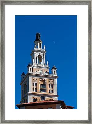 Framed Print featuring the photograph Coral Gables Biltmore Hotel Tower by Ed Gleichman