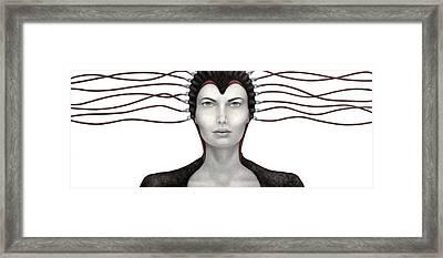 Binary Existence Framed Print