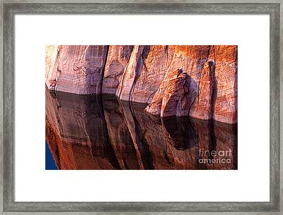 Binary Sandstone Framed Print by Scotts Scapes