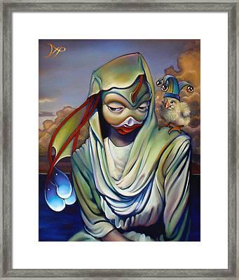 Binky's Mistress Framed Print by Patrick Anthony Pierson