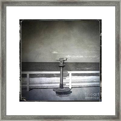 Binocular Framed Print by Bernard Jaubert