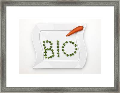 Bio Framed Print