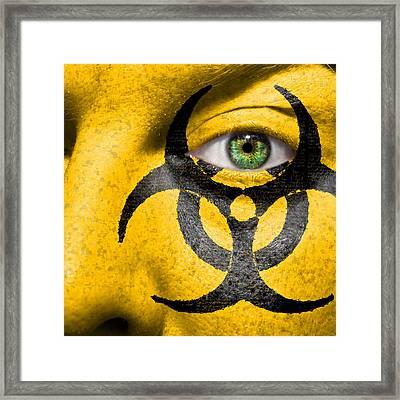 Biohazard Framed Print by Semmick Photo