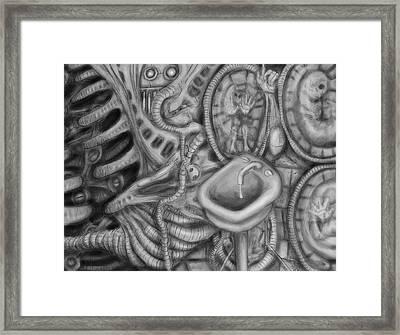 Biomechanic IIi Framed Print by Nicholas Vermes