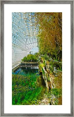 Biosphere2 - Environment 1 Framed Print by Gregory Dyer