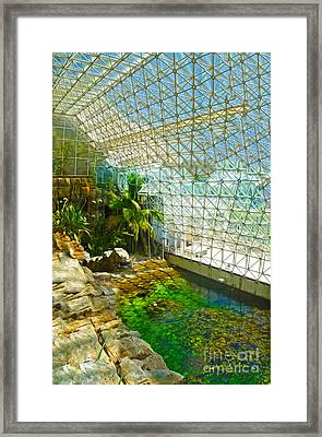 Biosphere2 - Environment 2 Framed Print by Gregory Dyer