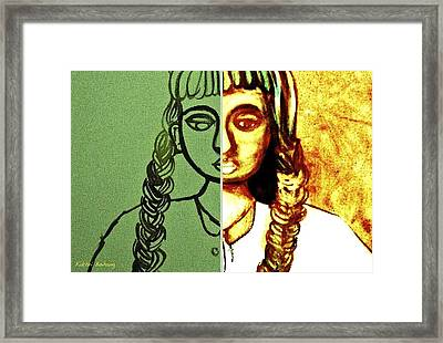 Bipolar 1 Framed Print by Fakhri Bohang