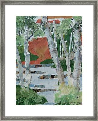 Birch Forest Framed Print by Heidi Patricio-Nadon