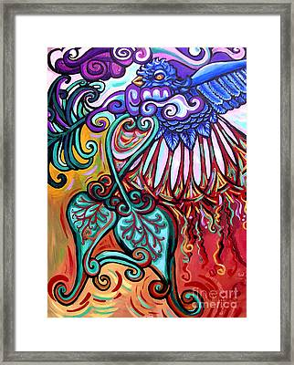 Bird Heart I Framed Print by Genevieve Esson
